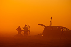 (lemank) Tags: belleglade rick flying poweredparagliding sunrise fog powerparaglider mm ws