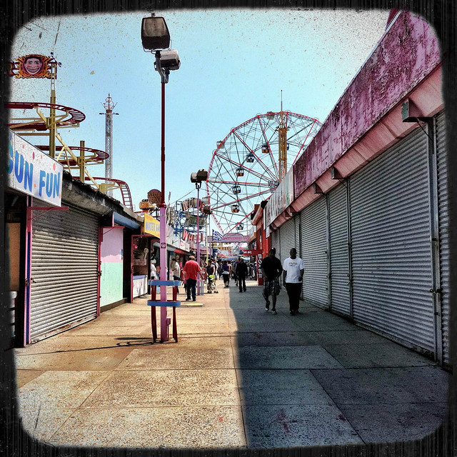 Vacant Allys at Coney Island