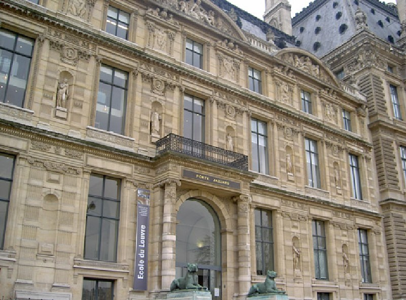 Ecole du Louvre - Vue générale