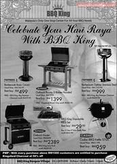 8 Oct : BBQ King Celebrates Hari Raya