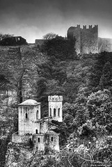 Erice (Renmarc) Tags: bw white black castle fog mono flickr favorites medieval bn more sicily faves favs bianco nero sicilia erice trapani mistery monocrome interestingess bwdreams renmarc