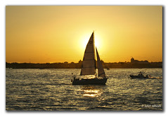 Sunset sail (chethan shankar) Tags: new york river photography passion sail hudson yatch mywinners cmeradeourobrasil