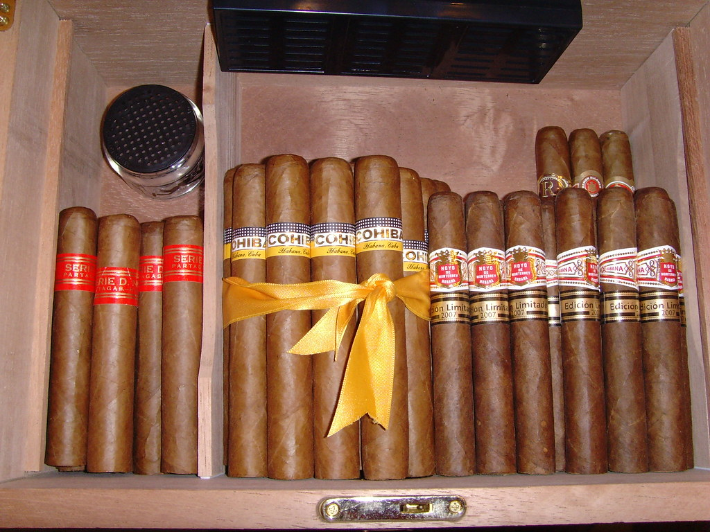 my humidor pictures
