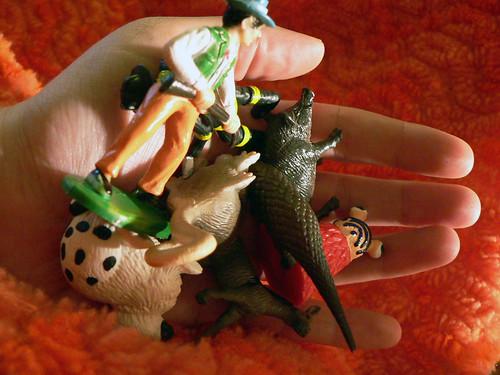 a pile o' miniatures