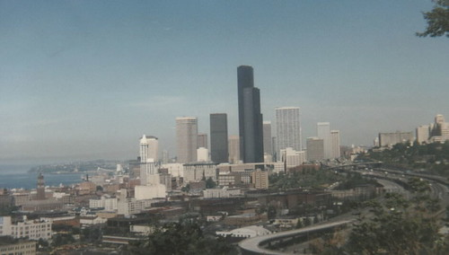 1986 Seattle skyline from Beacon Hill. Photo by Robert Ashworth -- thanks!
