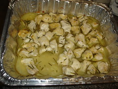 Garlic Chicken with Lemon and Rosemary