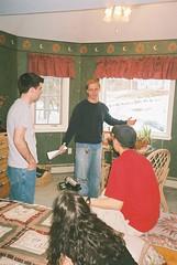 091_0007 (blue_william) Tags: film video classmates movies shooting projects sets walton shortfilms filmshooting studentfilms katechopin thestoryofanhour narrativeinfictionandfilm