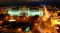 Guatemala de Noche (at Night) (Oscar Mota) Tags: longexposure light night lights luces guatemala explore palacionacional soe