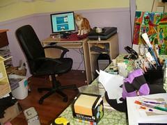 Messy Studio - Before