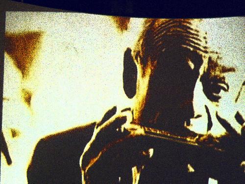 In Memory:  Harmonica Man by cobalt123.