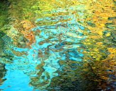 Impression (gherm) Tags: autumn abstract france reflection fall water colors automne canon canal eau colours couleurs impressionism abstraction s2is reflets impression impressionist vaucluse carpentras rflexion impressionnisme impressionniste gherm 0711018238 formatpaysage gettyartistpicks