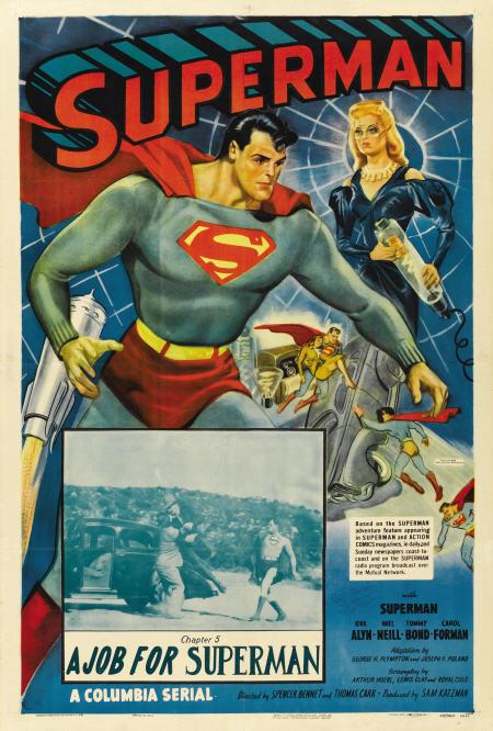 superman serial poster