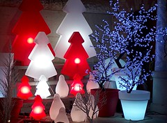 christmas lights (Marta S. Gufstasson) Tags: christmas light red white blanco luz weihnachten navidad licht rojo natale nadal nel colourartaward a3b