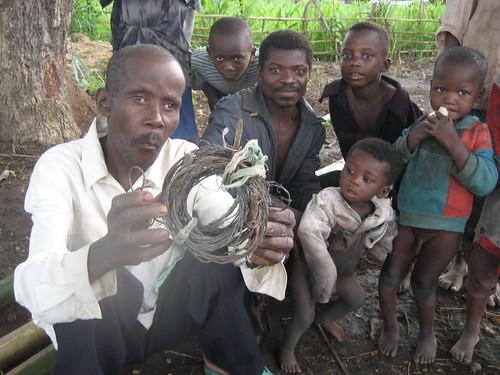 Pygmies living in Luiko