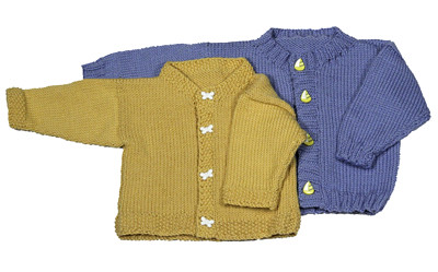 Easy Knitting Pattern For Baby Cardigan : Ravelry: Easy Baby Cardigan pattern by Diana Jordan