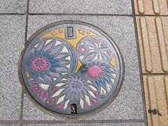 Manhole cover, Matsumoto