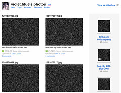 flickr gives it to me again (violet.blue) Tags: ridiculous punitive flickrcensorship