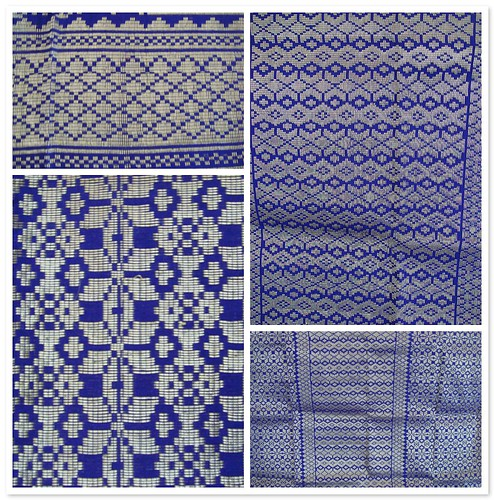 Blue Songket