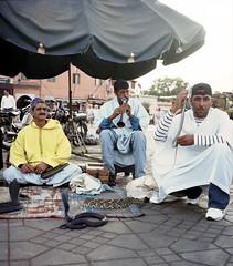 Dancing Demon (honeybSF) Tags: market morocco djemaaelfna merrakech