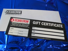 the fabulous scarecrow gift certificate