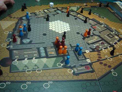 juego de mesa llamado La fuga de Colditz