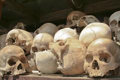 Choeunk Ek Genocidal Center - Killing fields Cambodia (SURF&ROCK (Miguel Navaza)) Tags: camp skulls skull cambodia graves bones bone huesos fosacomun killingfields calavera khmerrouge polpot camboya massgrave dangkor phonmpehn executioncamp choeunkek