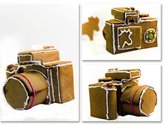 Gingerbread Camera (koinis) Tags: christmas camera house home cooking john 50mm baking gingerbread made homemade views 1000 kamera photostream marki pepparkakshus camerabody pepparkaka f0 koinberg koinis gingerbreadcamera kamerahus