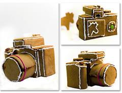 Gingerbread Camera (koinis) Tags: christmas camera house home cooking john 50mm baking gingerbread made homemade views 1000 kamera photostream marki pepparkakshus camerabody pepparkaka f0 koinberg koinis gingerbreadcamera kamerahus