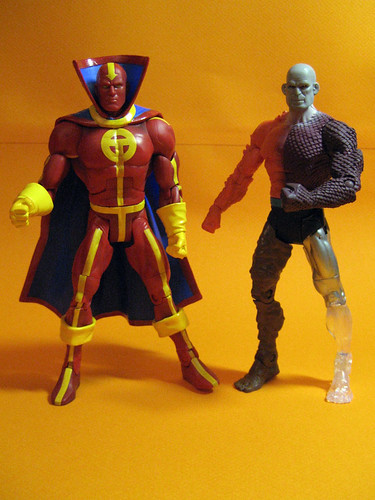 Red Tornado and Metamorpho