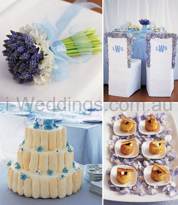 iLoveThese ideas for a something blue wedding