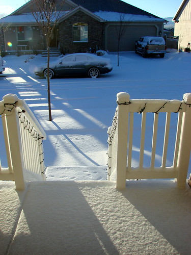 christmas day snow.