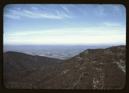 View of a valley from the Skyline Drive, Virginia (LOC)