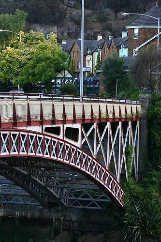 Bridge, Launceston, Tasmania.