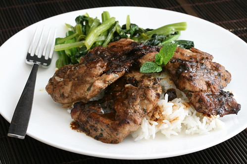 Hawaiian Marinated Seared Chicken