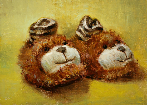 little bear slippers