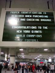 Penn Station Signage