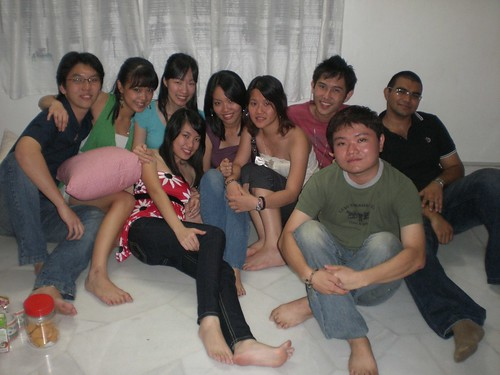 All of us at chee lim's house