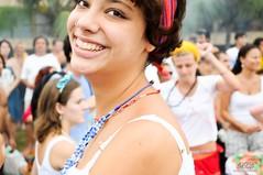 Smiling with her eyes (Xavier Donat) Tags: street carnival portrait people music smile rio brasil riodejaneiro happy eyes retrato mulher happiness desfile linda moa bonita carnaval leader sorriso rua dana aovivo cultura ipanema maracatu bloco povo tradicional riomaracatu d300 cfrj