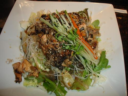 salmon skin salad $5.50