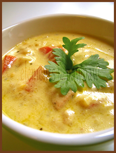 V-Day Creamy Chix Soup