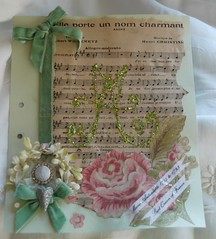 Marie Antoinette ~ the final page (Ginny Gibson) Tags: robin marie journal round antoinette