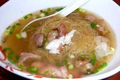 Ba Mee Nam, Noodle Soup Thai Style