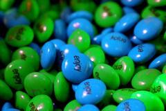 enjoy a little more... (eyewashdesign: A. Golden) Tags: nyc blue green golden candy chocolate turquoise january 2006 enjoy sweets mm toddoldham alane eyewashdesign alanegoldn