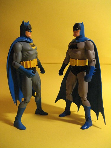 Earth One and Earth Two Batman