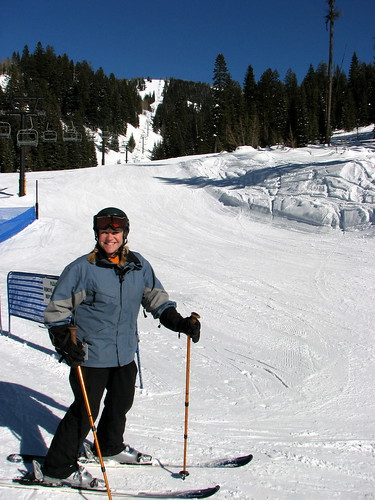 Birthday Skiing at Brundage