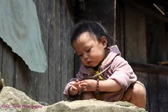 Hill Tribe Baby (hcjonesphotography) Tags: poverty mountains children village child poor terraces vietnam ethnic sapa hilltribe