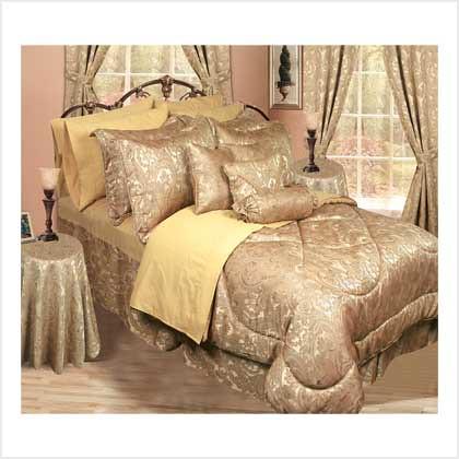 38599 Bedding Ensemble (Gold) - 30 Pc