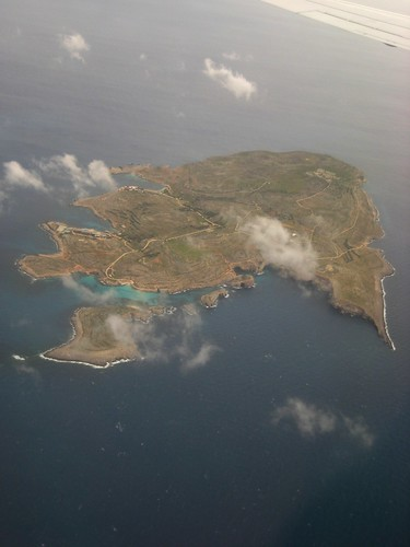 Comino from the air