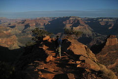 South Kaibab Trail (angelatravels11) Tags: andy south grand canyon hike trail backpack kaibab 20080402 backpackingthegrandcanyon