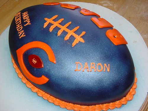 chicago bears birthday football cake charley.salas@sbcglobal.net